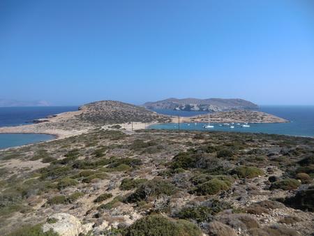 unsere Bucht auf Andros