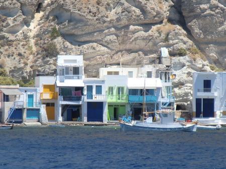Fischerhäuser von Klima