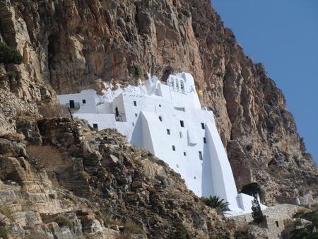 byzantinischem Kloster Panagia Chozoviótissa