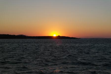 Sonnenuntergang Paros