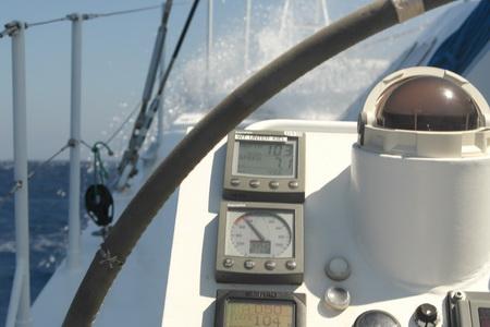 Spitzwasser bei 8 Kn Fahrt