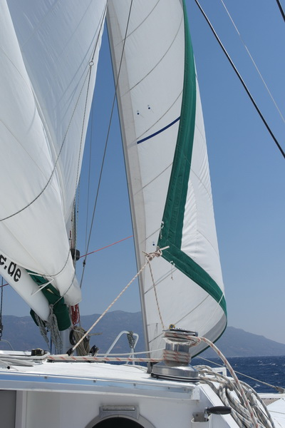 Segeln an der Südküste Samos