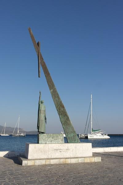 Statue des Pythagoras