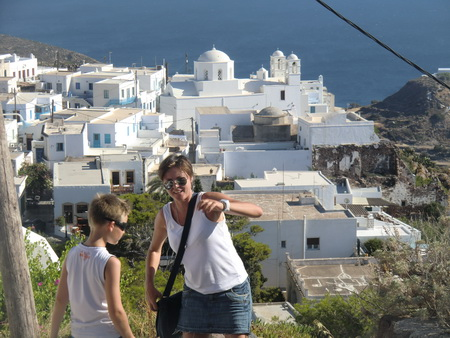 on the Top Plaka Milos