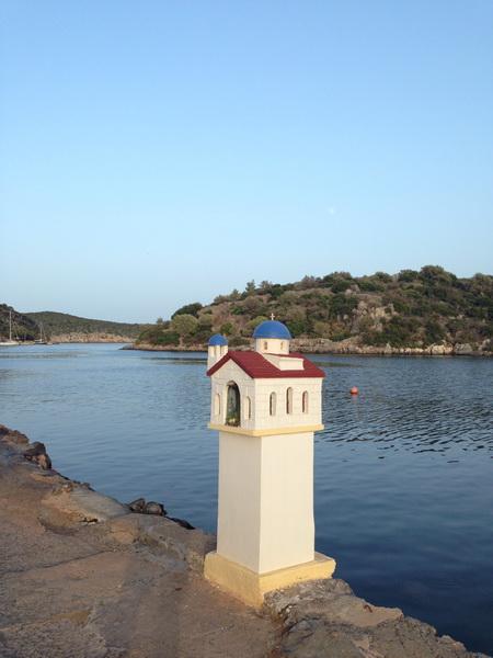 Hafenbucht Geraka