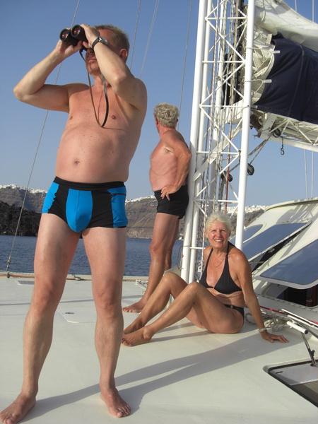 137-Santorin-Elfie, Oleg, Juergen