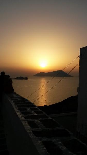 Sonnenuntergang Milos