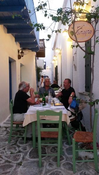 Taverne in der Plaka Milos