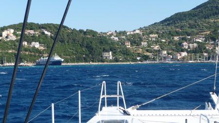 Anfahrt Hafen Poros_Kefalonia