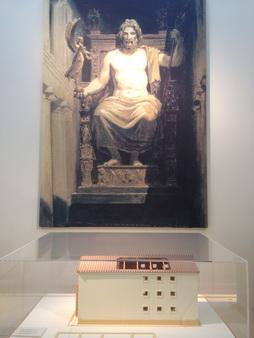 Antikes Olympia-Zeustempel