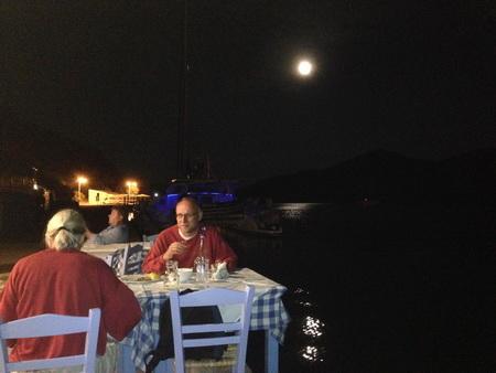 Gerakas im Mondschein