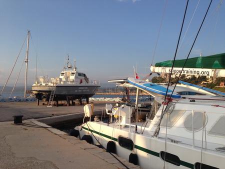 Hafen Pylos