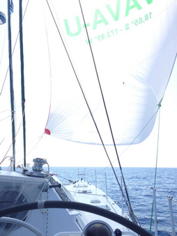 Spi-Segeln nach Pylos