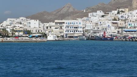 Anfahrt Naxos