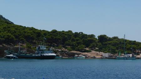 Bucht bei Insel MONI