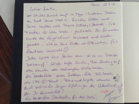 Gästebucheintrag 17-2015