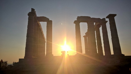 Poseidontempel am Kap Sounion