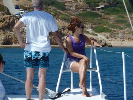 Ankerplatz Ormos Klima auf Patmos