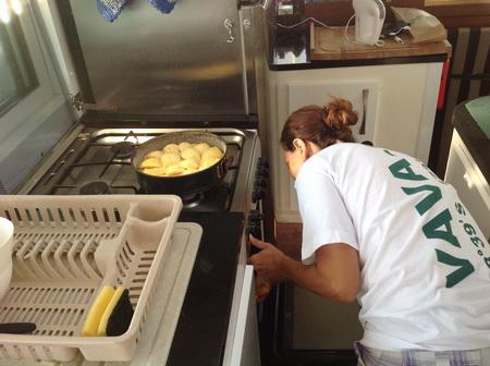 Bord-Bäckerei