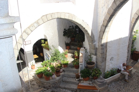Im Johannes-Kloster Patmos