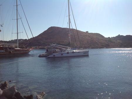 Liegeplatz Patmos