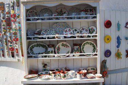 Shoppen auf Patmos