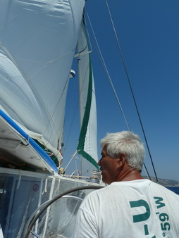 der erste Segelschlag südlich Samos_2