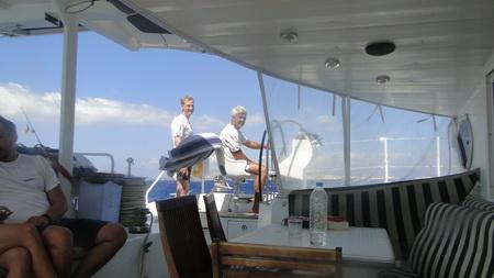 Überfahrt nach Amorgos