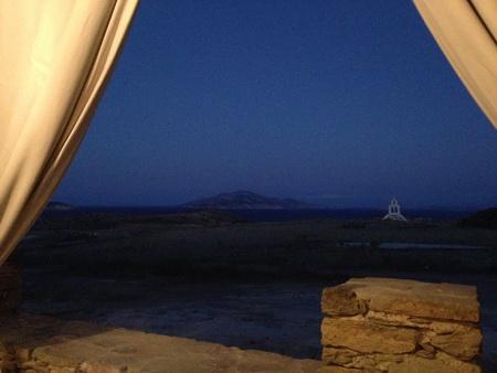 Abenddämmerung auf Schoinousa