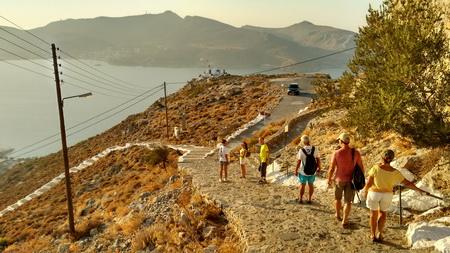 Wanderung zur Festung auf Leros