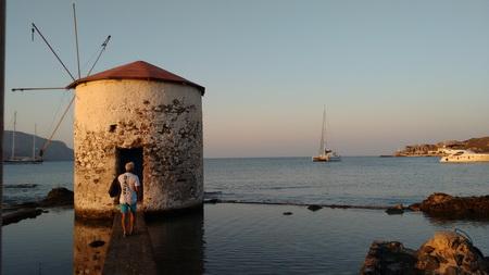 Ankerplatz Agia Marina auf Leros