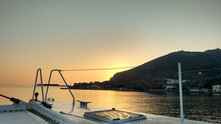 Sonnenaufgang Leros