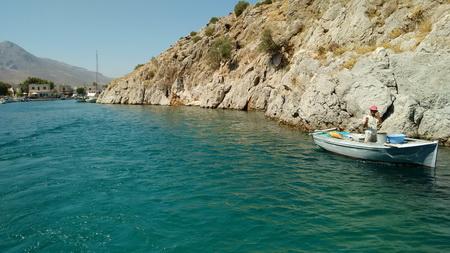 Einfahrt nach Vathy auf KAlymnos