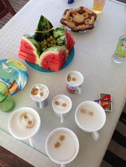 Kaffeepause auf VAVA-U