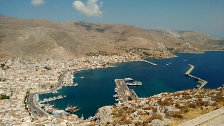 Kalymnos Kloster und Hafen