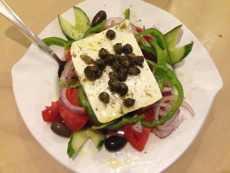Kapern-Salat am Abend