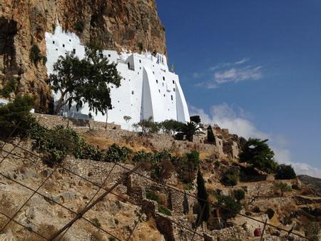 Kloster Chozoviotissa Amorgos