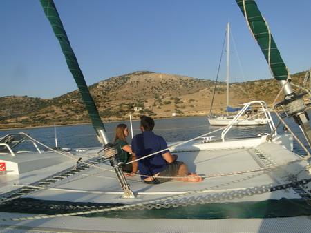 Ormos Kalando auf Naxos