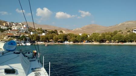 Ormos Vlychada auf Kalymnos