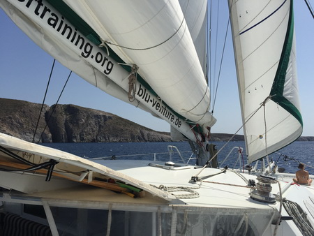 Segeln nach Antiparos