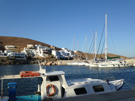Hafen Skala auf Astypaleia