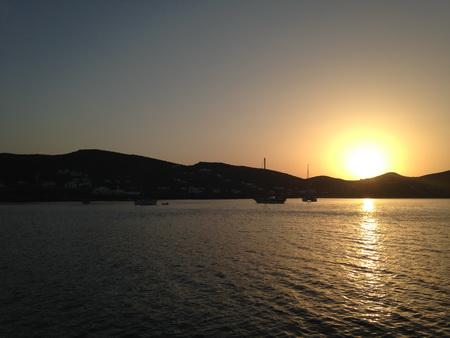 Sonnenaufgang bei Despotiko