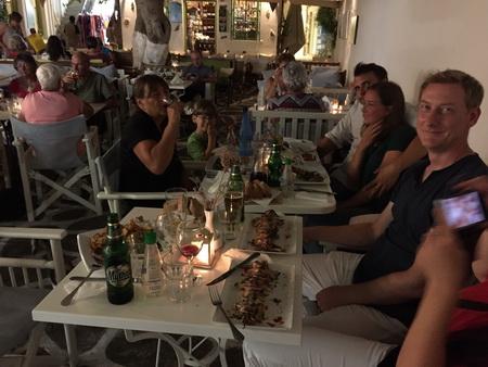 Taverne in Paroikia