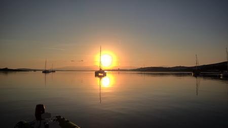 Sonnenaufgang in Naousa