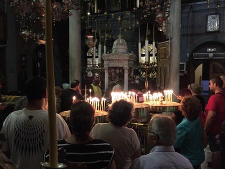Wallfahrtskirche Panagía Evangeliístria auf Tinos