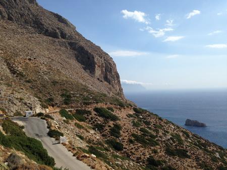 Weg zum Kloster Amorgos_2
