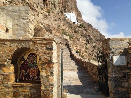 Weg zum Kloster Amorgos_3