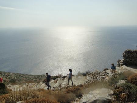 Weg zum Kloster Amorgos_4
