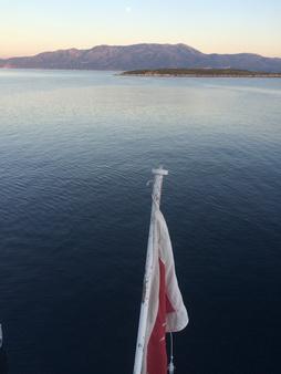 Bucht auf Kastos