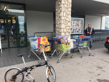 Lidl-Einkauf in Lefkas